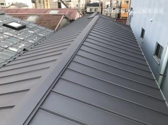 屋根カバー工事