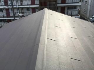 リフォーム後の屋根(ガルテクト)