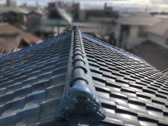 屋根修繕ビフォー写真