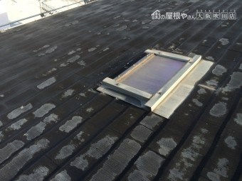 劣化したアスファルトシングル屋根