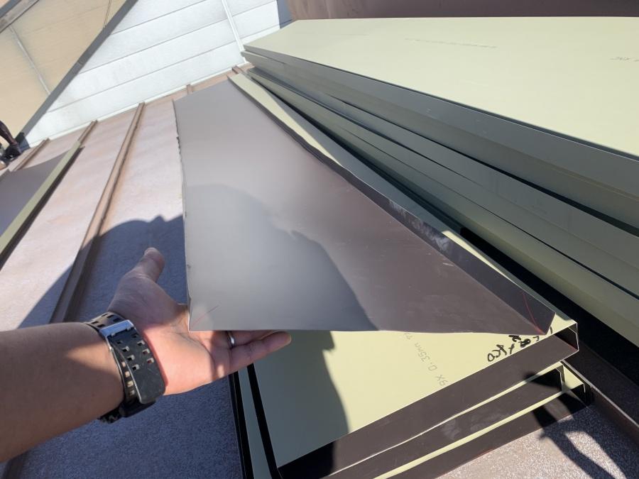 屋根リフォーム ガルバリウム鋼板