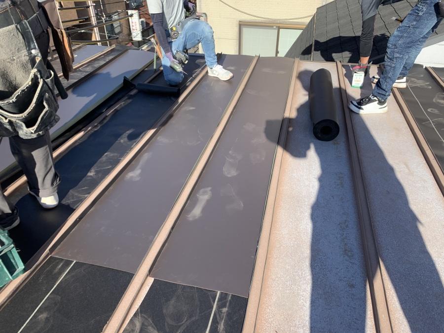 屋根リフォーム 瓦棒屋根