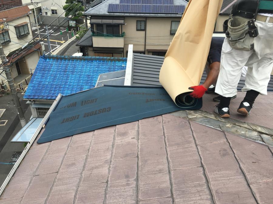 屋根材防水下地