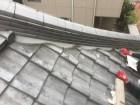 漆喰の詰め直し工事