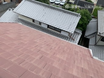 豊中市 フルベスト24葺き屋根