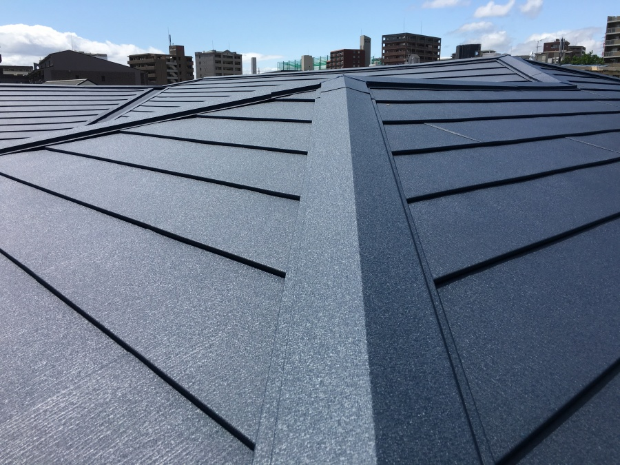 スーパーガルテクトスレート屋根