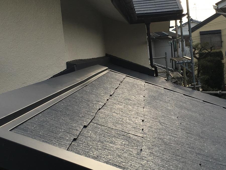 雨押え施工