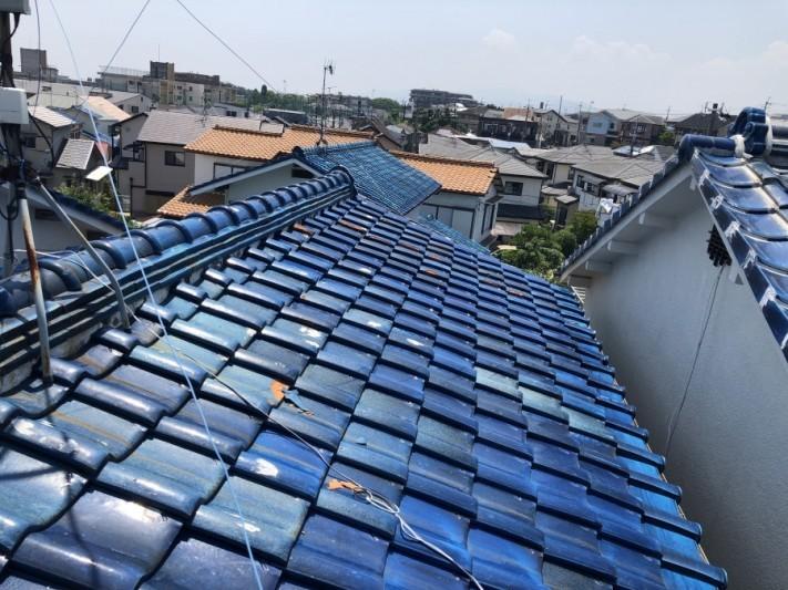 釉薬瓦屋根