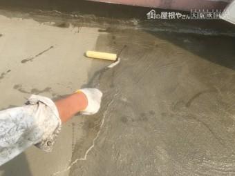 ウレタン防水塗装工事フィラー