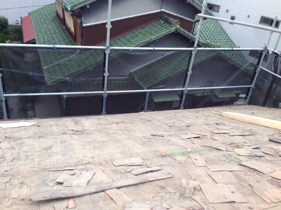 既存の屋根下地