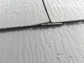 スレート屋根ゆがみ反り不具合箇所