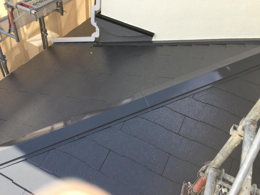 スレート屋根歪み反り割れなどのチェック