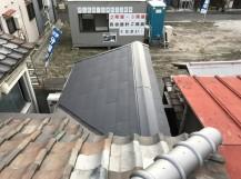 補修後のスレート屋根