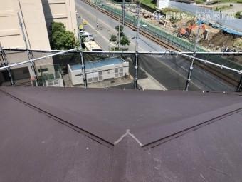 ガルバリウム鋼板屋根完成