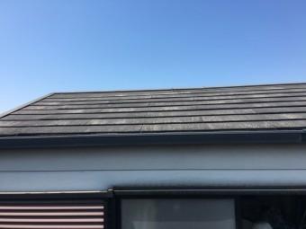 補修前スレート屋根