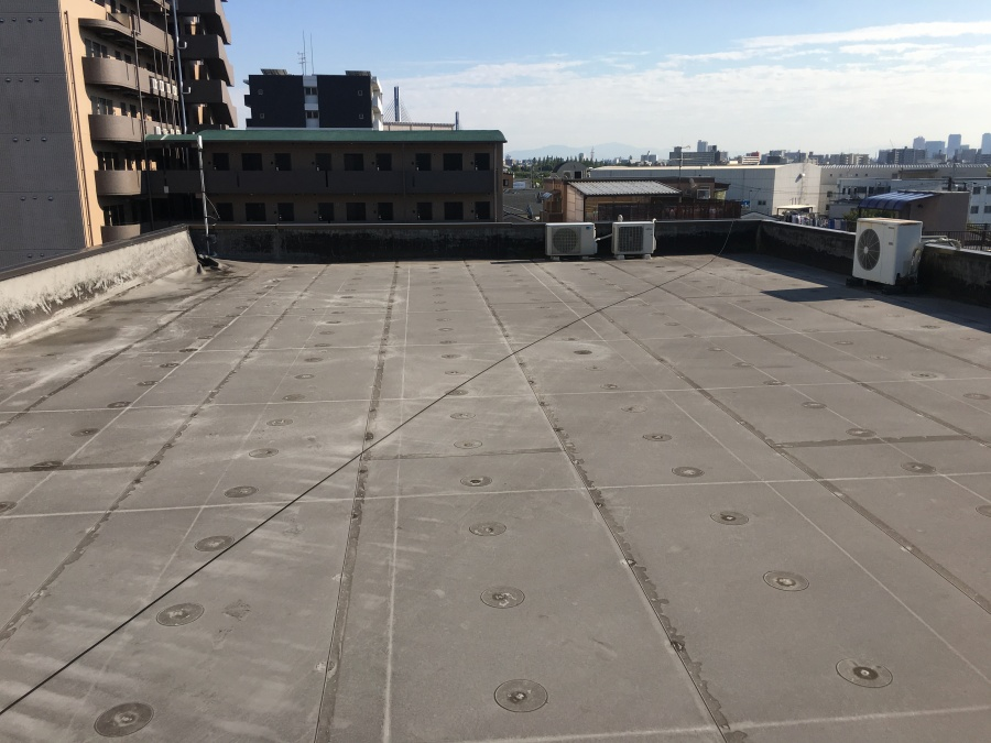屋上防水工事前