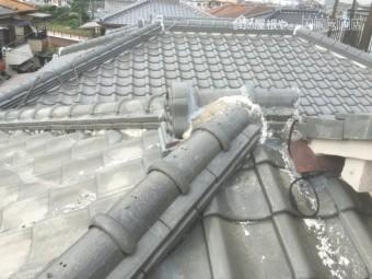 雨漏り瓦屋根