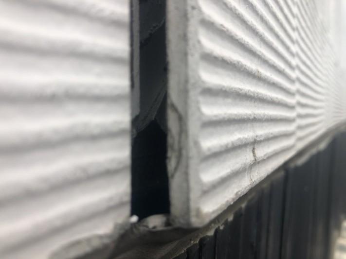 外壁の捲れ