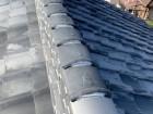 修理後の瓦屋根