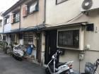 吹田市長屋棟続き現場瓦屋根を立平葺きで葺き替え工事