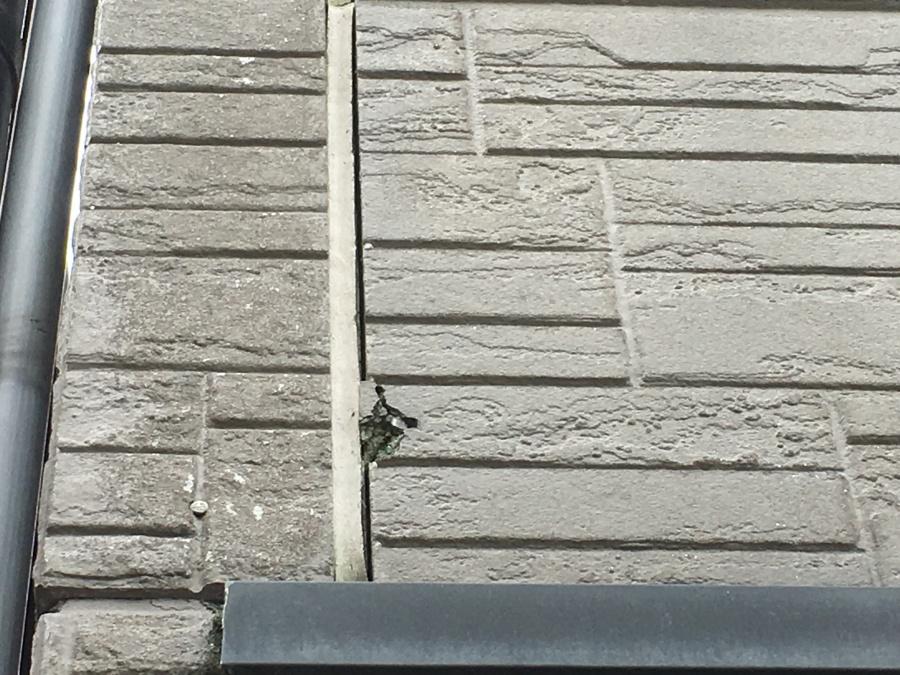 劣化したサイディング外壁
