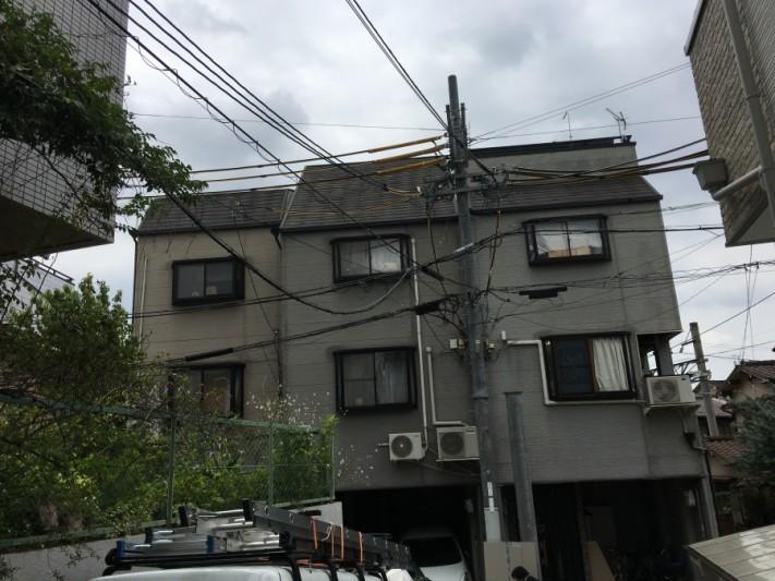 3階建て建物外観