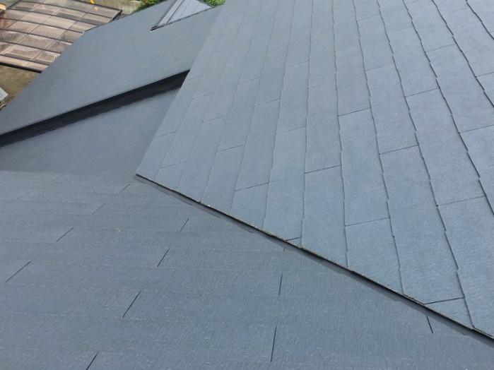 修理から半年経過した屋根