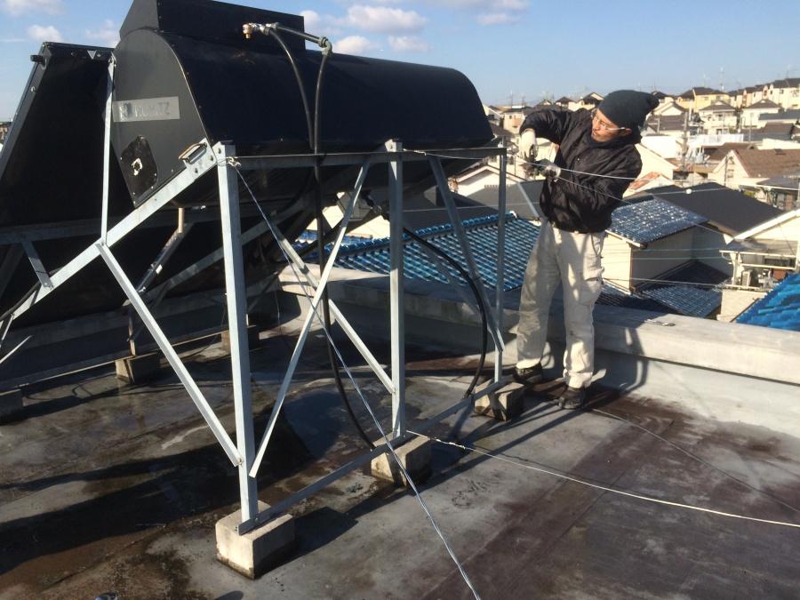 雨漏り屋上防水工事
