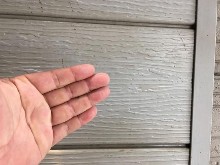 外壁チョーキング現象