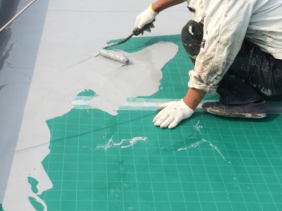 ウレタン防水塗装工事