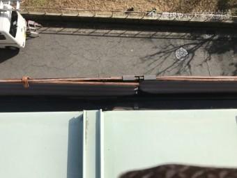 劣化した金属製の雨樋