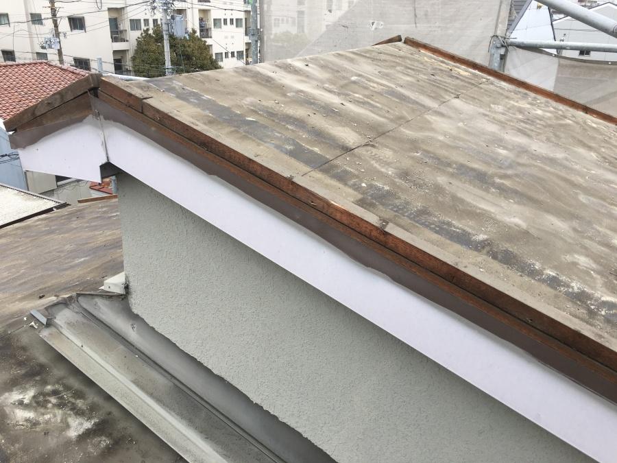 屋根めくり終了