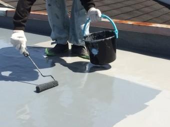 屋上ウレタン防水塗装