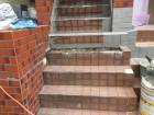 階段ウレタン防水工事