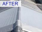 葺き替え工事により雨漏りが解消した屋根