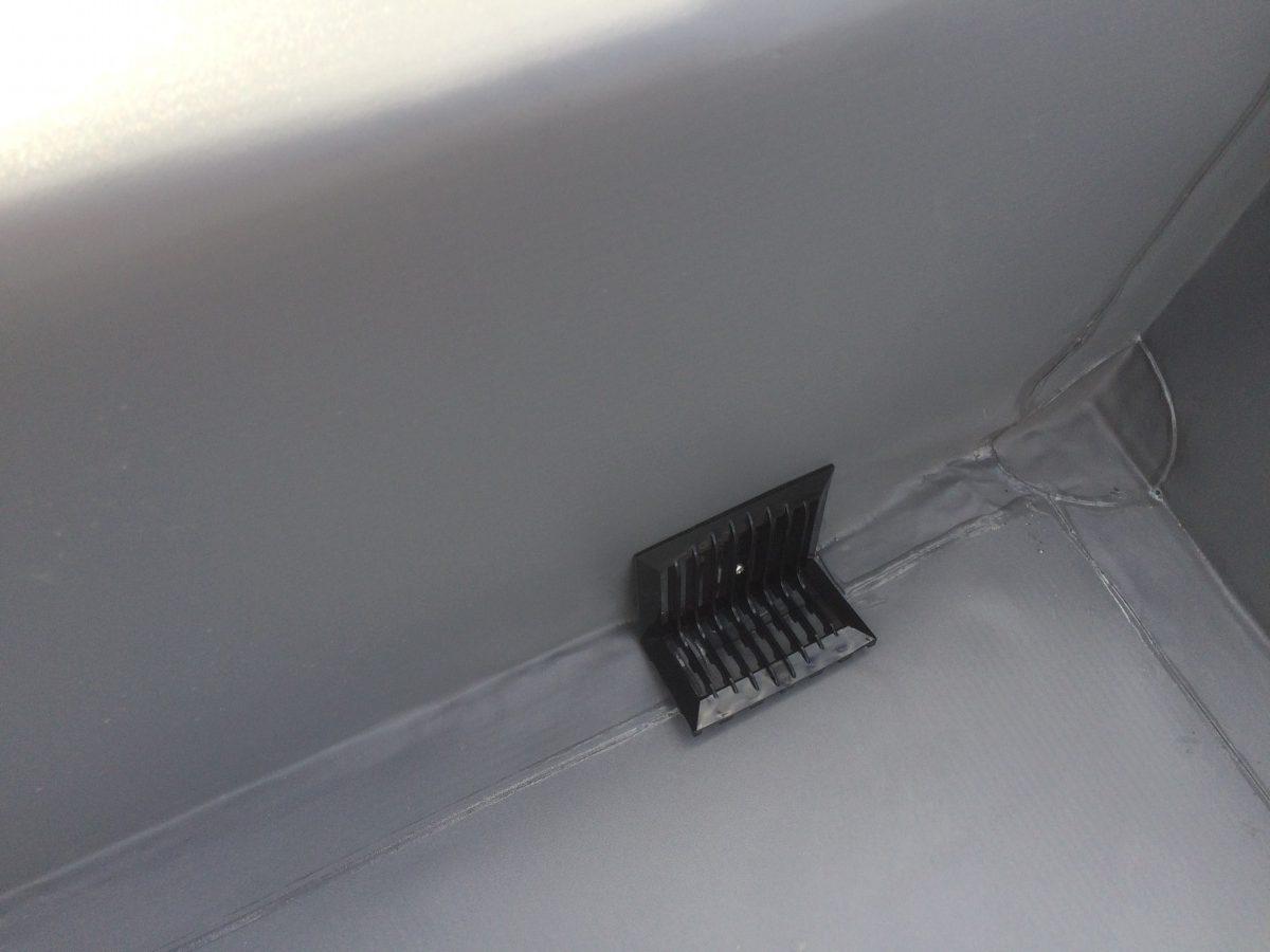 豊中市 雨漏り 新しく設置した屋上ドレン