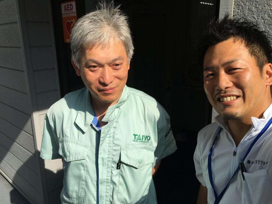 東淀川区で塩ビシート防水工事が竣工。お客様の声です。