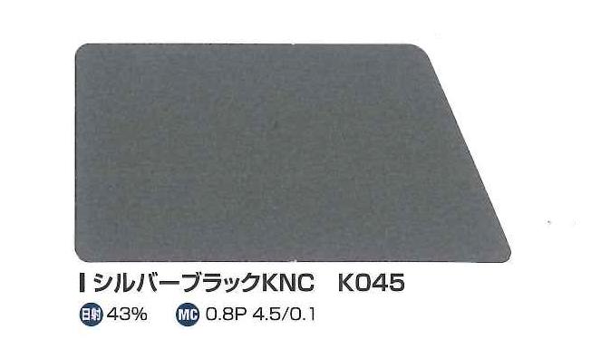 たてひらシルバーブラックKNC K045