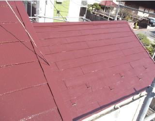 施工後:長期に渡り遮熱効果を維持